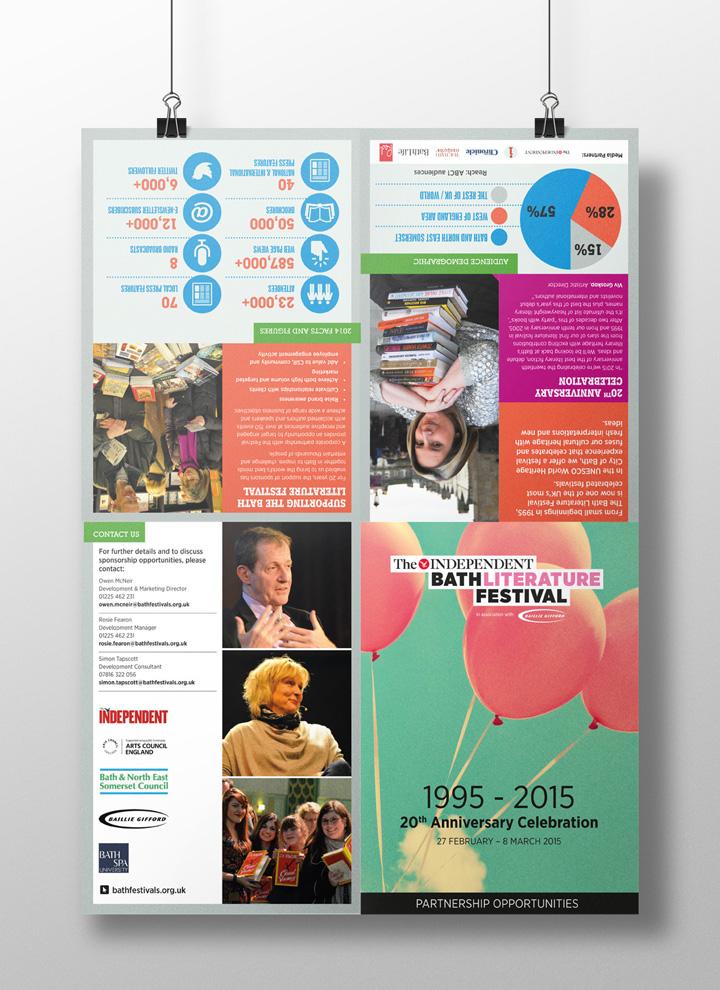 Bath Literature Festival sponsor pack front
