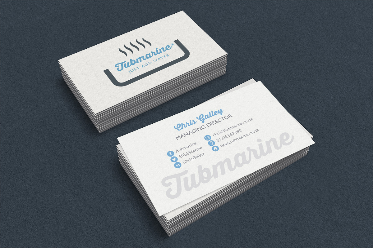 Business card white 2